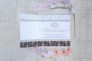 przykład zaproszenia ślubnego ze zdjęciem
