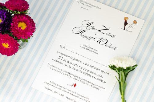 Zabawne Zaproszenia Na ślub Deconatka